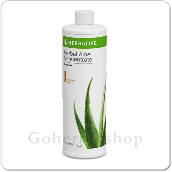 Herbal Aloe Concentrate Mandarin Orange