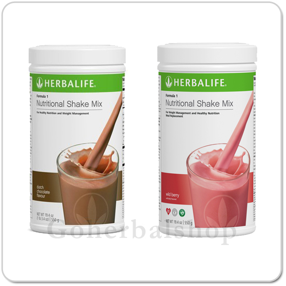 Herbalife Formula 1 Nutritional Shake Mix Set of 2